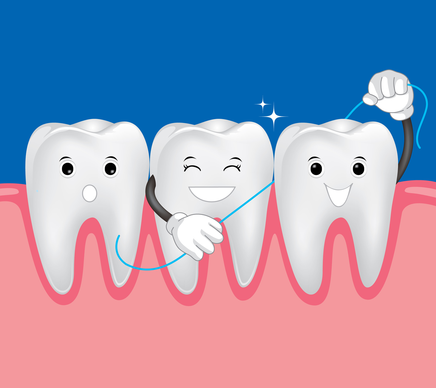 the best way to floss pawleys island dentist
